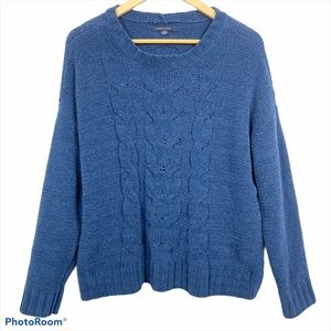 American Eagle Impossibly Soft Cable Knit Sweater